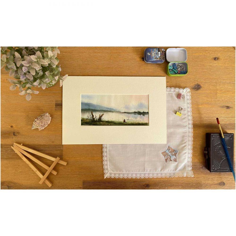 Fisherman watercolor