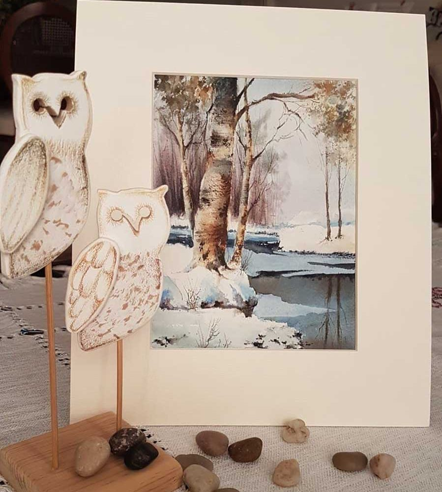Greeting Cards Watercolor