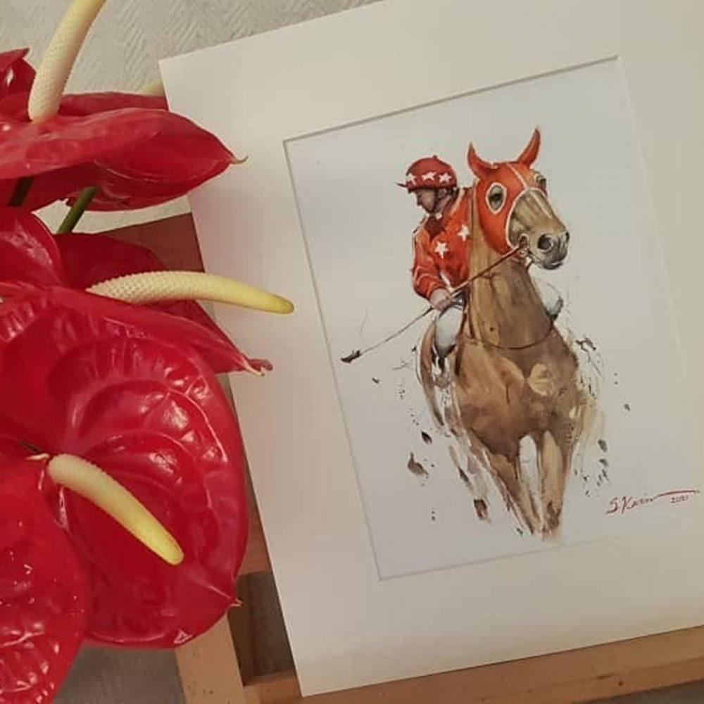 Horse-watercolor