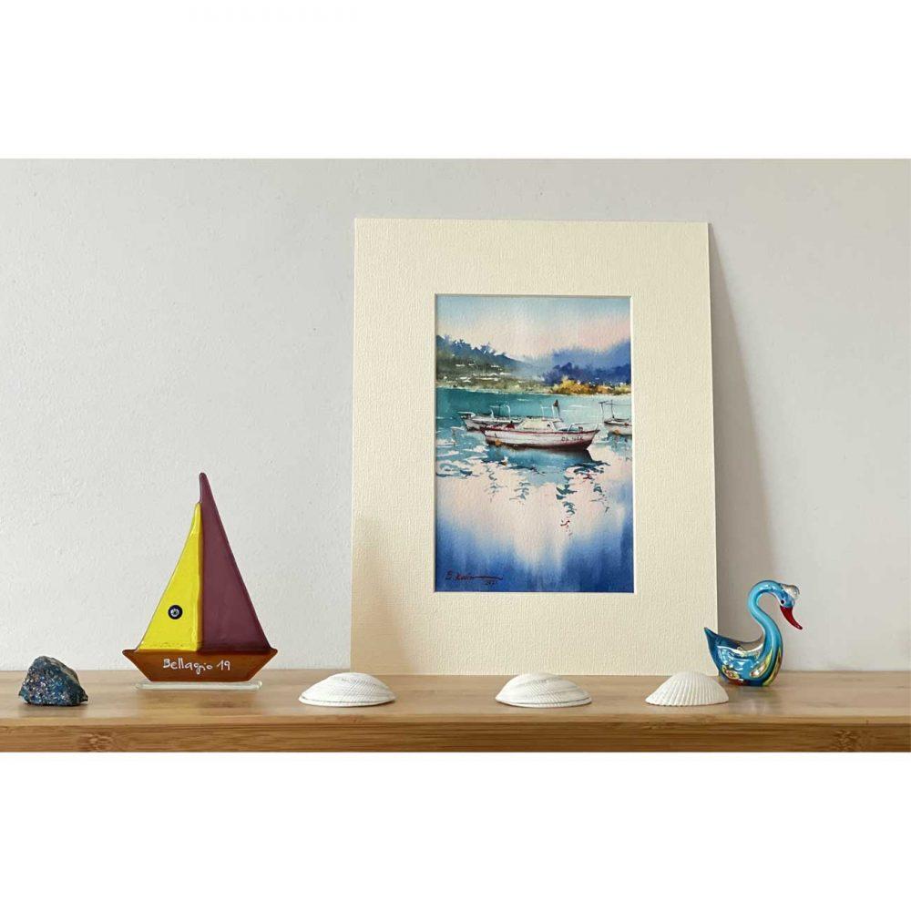 Boat-Art-painting